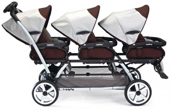 Количка за близнаци - Triplette SW
