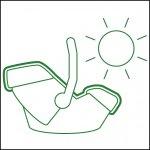 Летен калъф за столче Aton