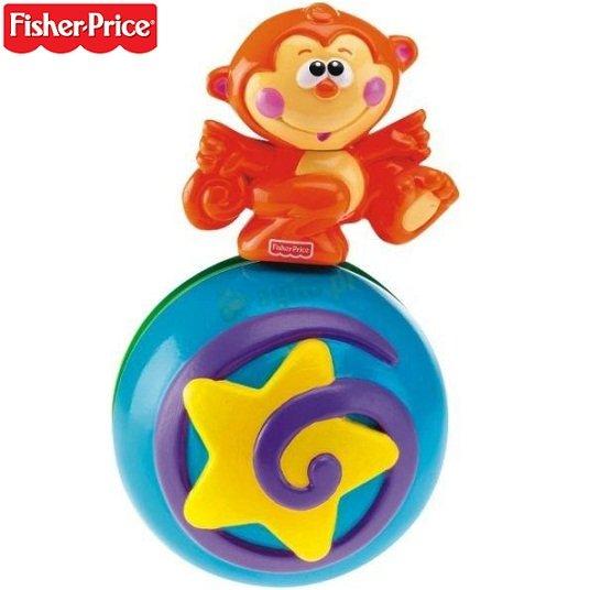 Музикална топка с маймунка
