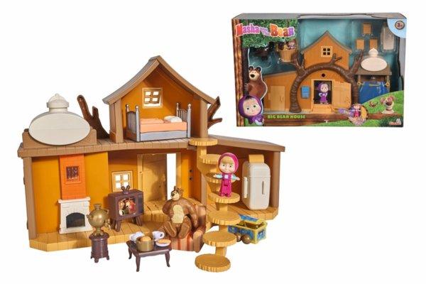 Маша и мечока - Голяма къща на мечока