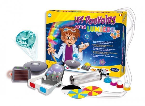 Игра експерименти силата на светлината