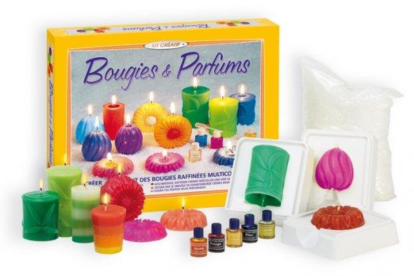 Игра създай ароматни свещи