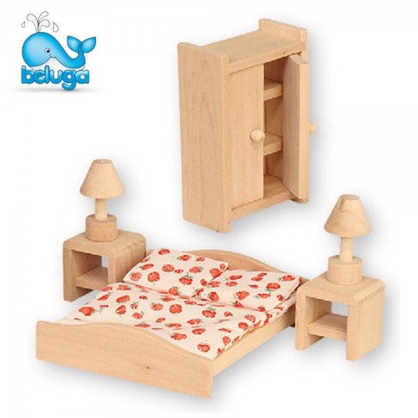 Мебели за къща за кукли - спалня