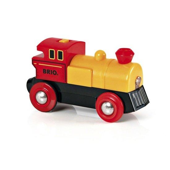Ретро локомотив със светлини
