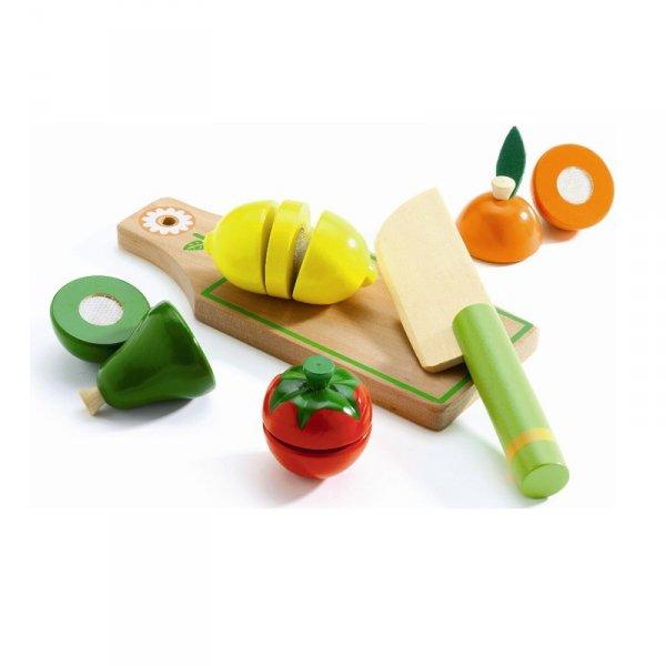 Дървени плодове и зеленчуци