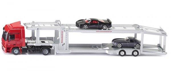 Автовоз Mercedes с две коли