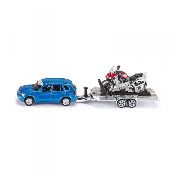 Kоличка BMW с ремарке и мотор