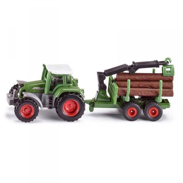 Трактор Frendt с ремарке