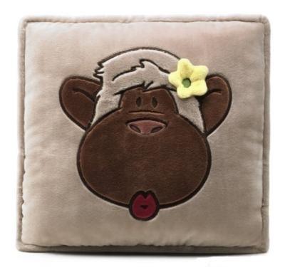 Квадратна възглавница - маймуна