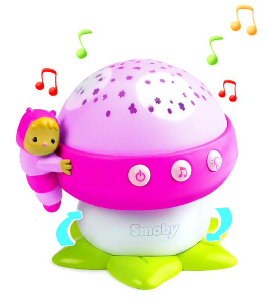 Детска музикална лампа прожектор