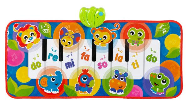 Музикално пиано-пътека 3-в-1 със звуци от Джунглата