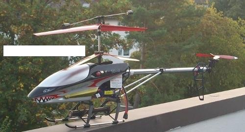 Shark Gyro огромен RC хеликоптер