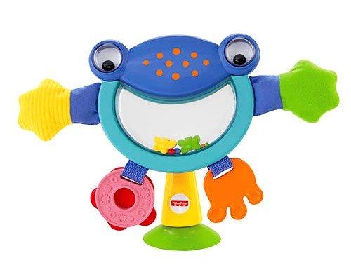Играчка за столче за хранене - жабче