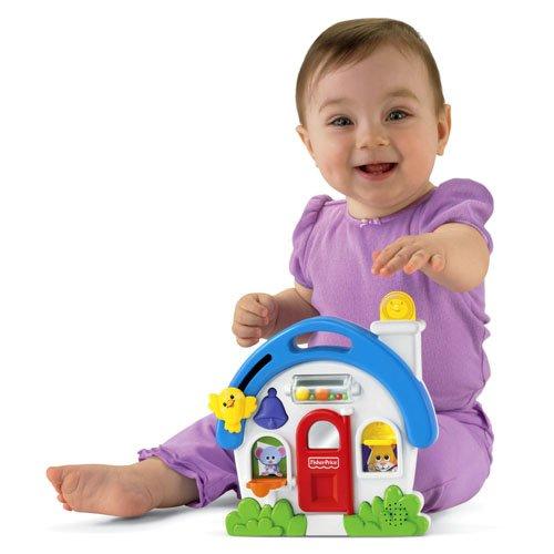 Играчка със звуци - къщичка