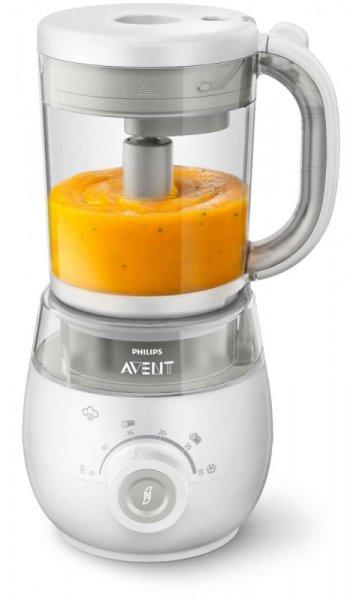 Комбиниран уред за здравословна бебешка храна 4в1