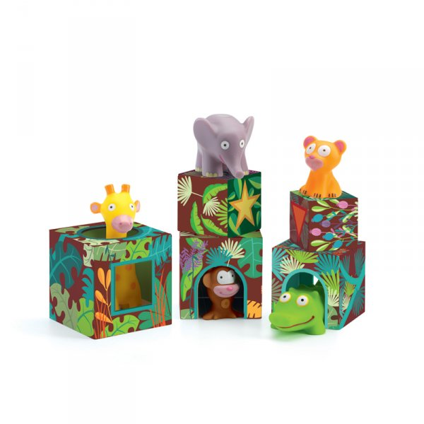 Детски кубчета и животинки