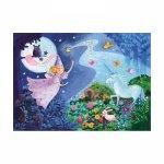 Пъзел Тhe fairy and the unicorn
