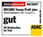 Столче за кола - Young Profi Plus / 0+ (0-13 кг.)