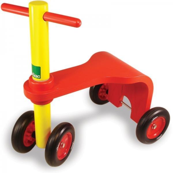 Дървено колело триколка