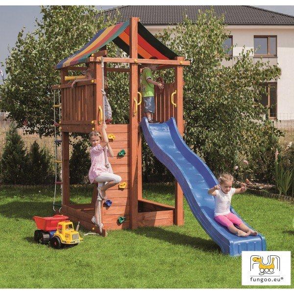 Детска площадка с пързалка Paradise