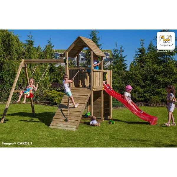 Детска площадка с пързалка Carol 3