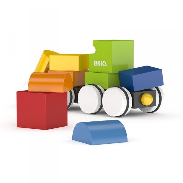 Влакче за сглобяване с магнитни кубчета