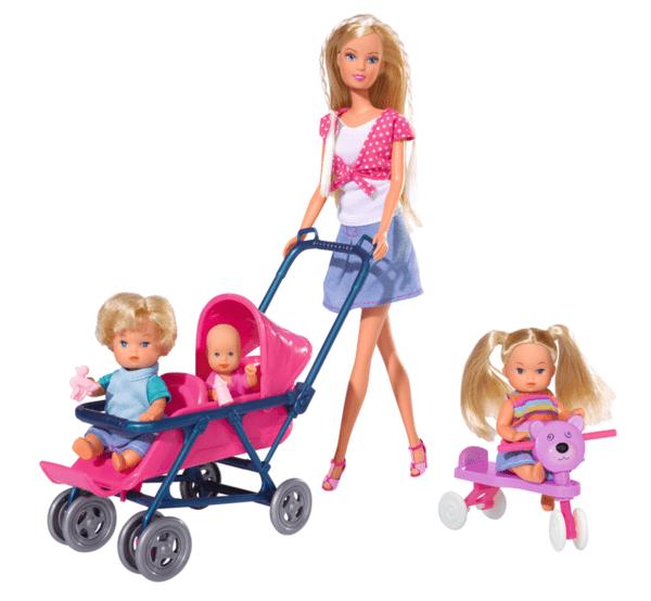 Steffi Love - Стефи с три бебета