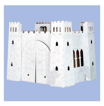 Мистериозен замък за оцветяване