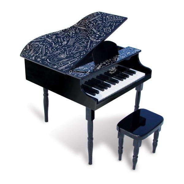 Пиано със стол