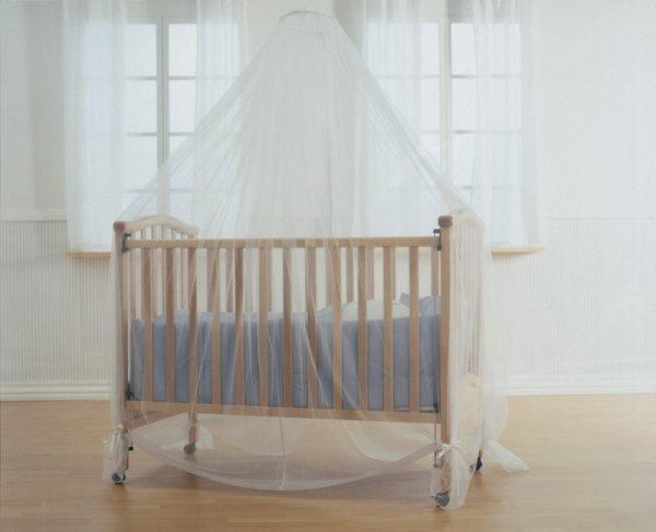 Комарник балдахин за легло кошарка