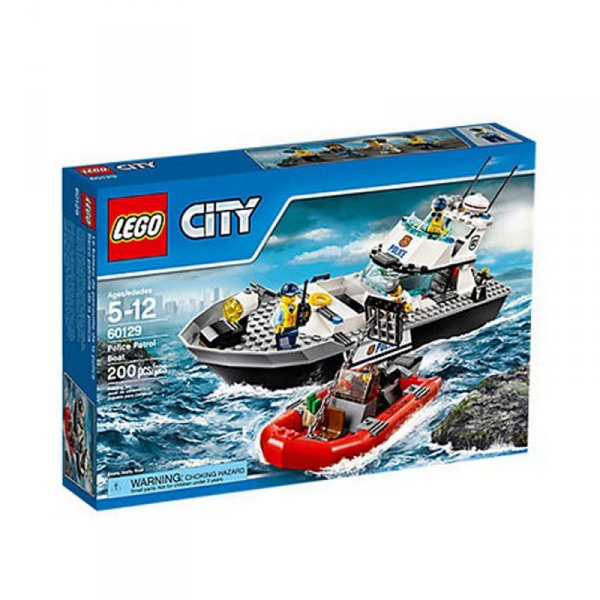 Полицейска патрулна моторница - Police Patrol Boat