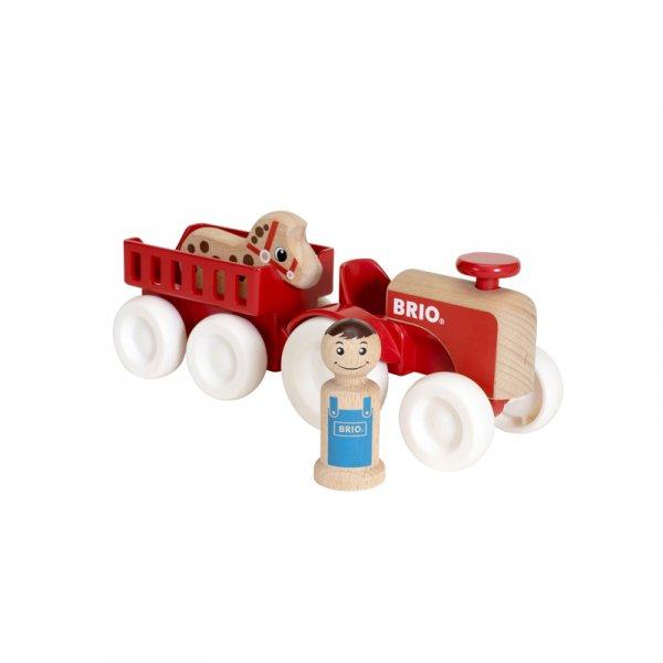 Трактор с ремарке
