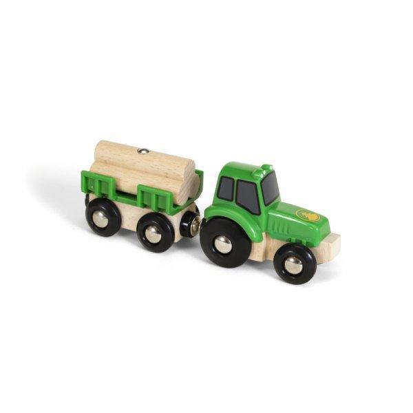 Трактор с товар
