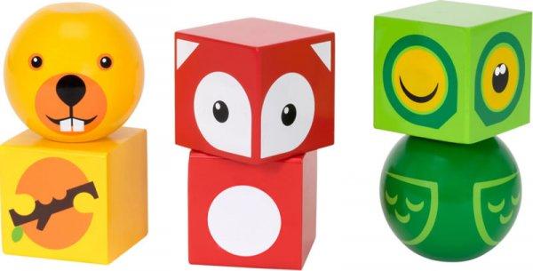 Магнитни кубчета - горски животни