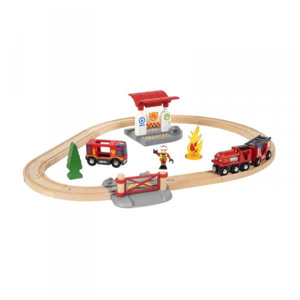 Влакче и релси - пожарна команда