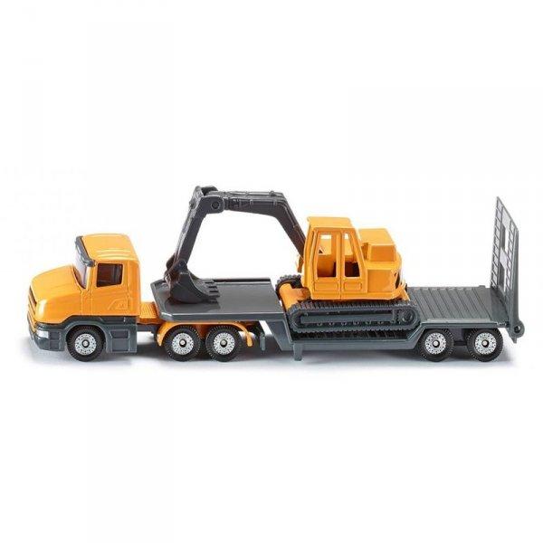 Комплект камионче и багер Low loader with excavator