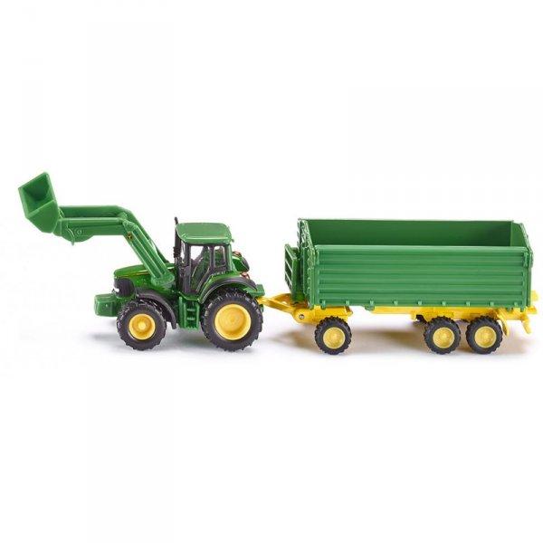 Тракторче John Deere с ремарке