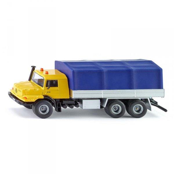 Камион с платформа  Mercedes - Benz Zetros
