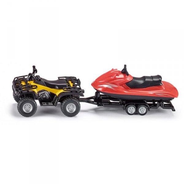 Комплект ATV с ремарке и джет