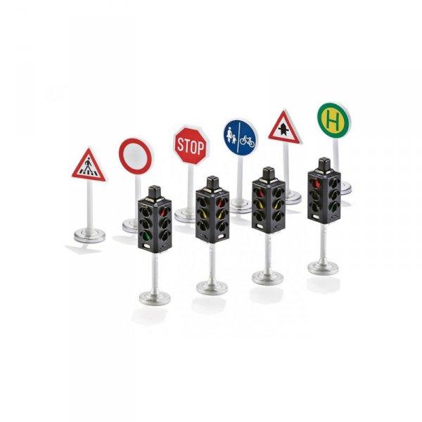 Комплект пътни знаци и светофари