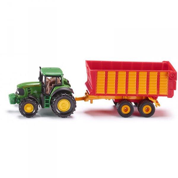 Тракторче с ремарке  John Deere