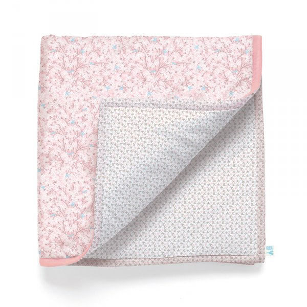 Бебешка постелка - Цвете памук