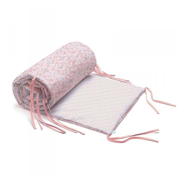 Обиколник за легло - Цвете памук