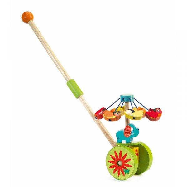 Дървена играчка за бутане Rouli - cuicui