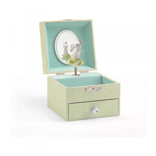 Музикална кутия за бижута - зайче