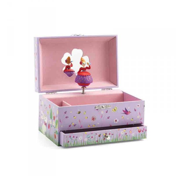 Музикална кутия за бижута - принцеса