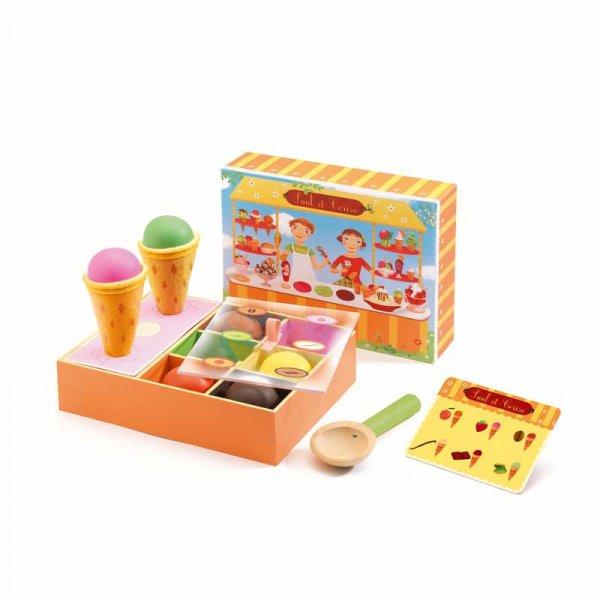Детски комплект сладоледи