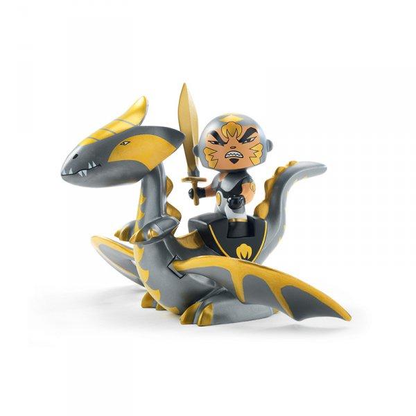 Фигурка - рицар и дракон