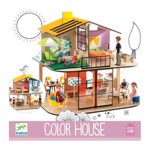 Къща за кукли Color House