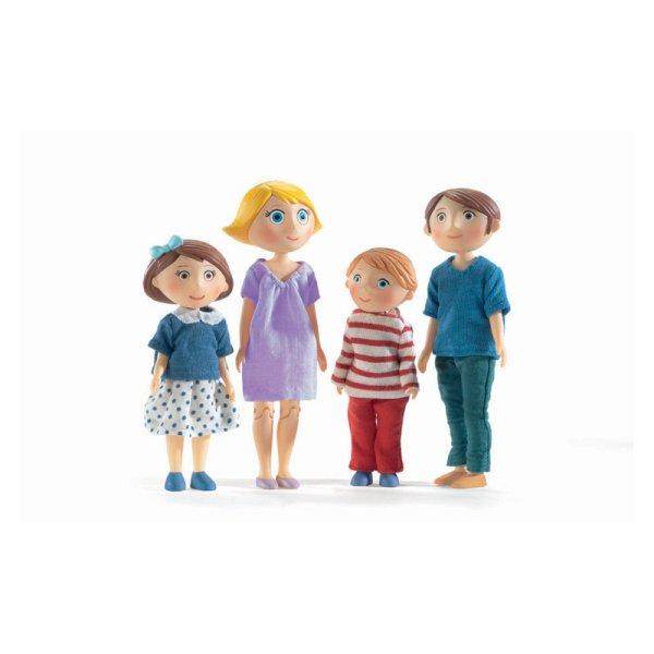 Семейство кукли Гаспар и Роми